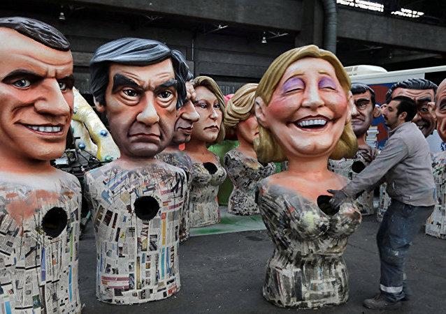 勒庞和马克隆在法国大选前民调中保持领先