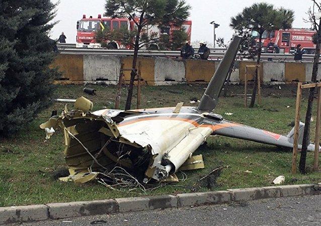 伊斯坦布尔省直升机事故中5人死亡