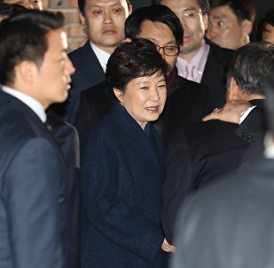 媒体:韩国法院或于3月30日签发朴槿惠逮捕令