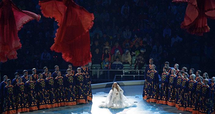 2014年冬季残奥会的盛大开幕式