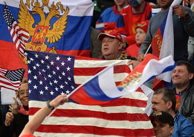民调:俄罗斯人近一年来对美国与欧盟的态度有所恶化