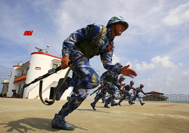 海军陆战队将维护中国日益增长的战略利益