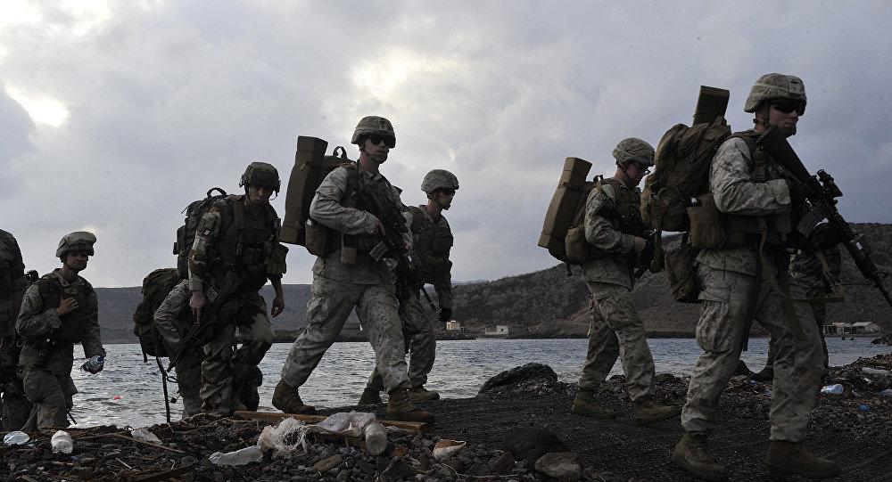 在吉布提的美国军事存在