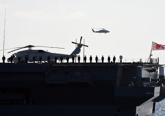 """媒体:日本""""准航母""""今年5月将开赴南海"""