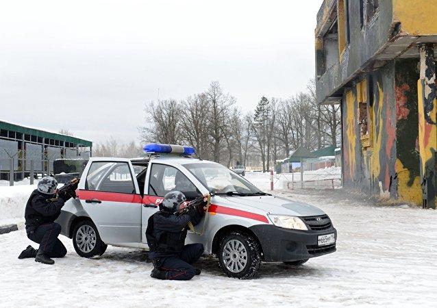 俄罗斯国家近卫军启动首次突击战备检查