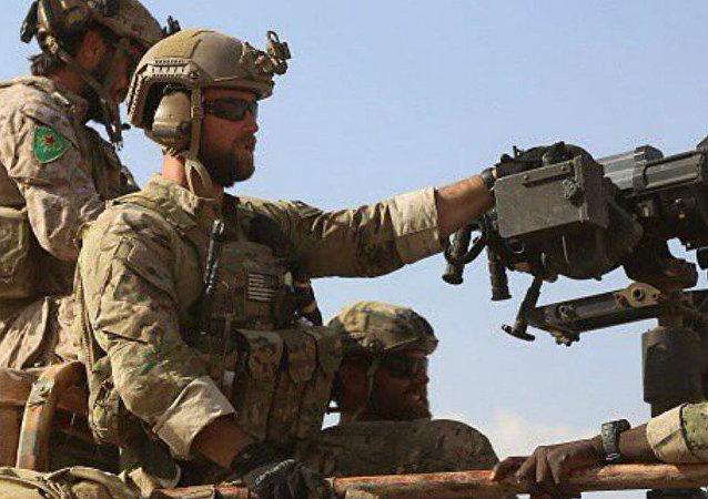 美国海军陆战队在叙利亚