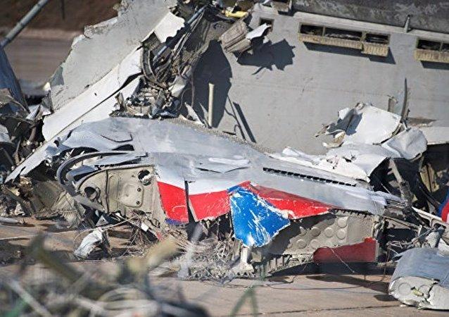 媒体:索契附近坠毁的图-154飞行员将飞机降落到水上
