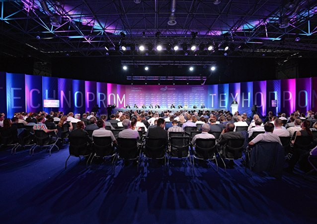 """印度作为全面合作伙伴参与西伯利亚""""技术工业""""-2017""""论坛"""