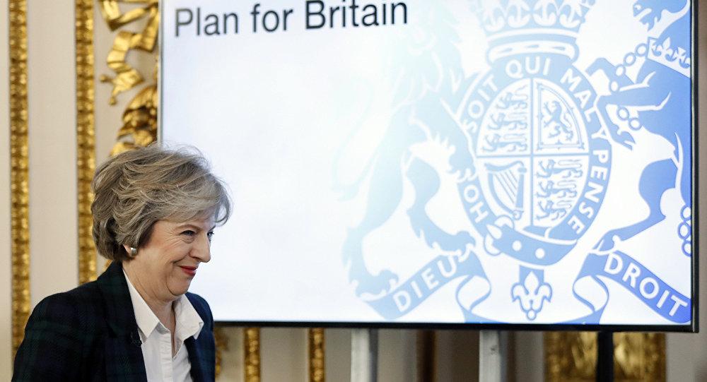 英国首相认为其脱欧协议可以作为英国退出欧盟协议的基础