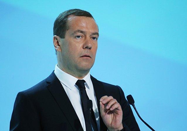 """俄总理:欧洲的矛盾使其远离建立""""共同家园""""的目标"""