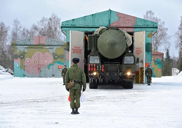 俄战略导弹部队(资料图片)