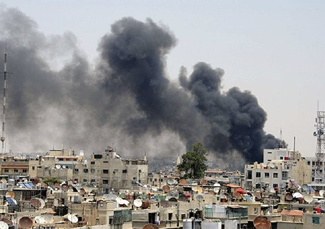 媒体:激进分子在大马士革东郊恢复交战