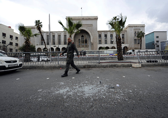媒体:在大马士革发生两起爆炸