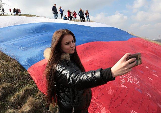 民调:绝大多数俄罗斯人为自己的祖国感到自豪