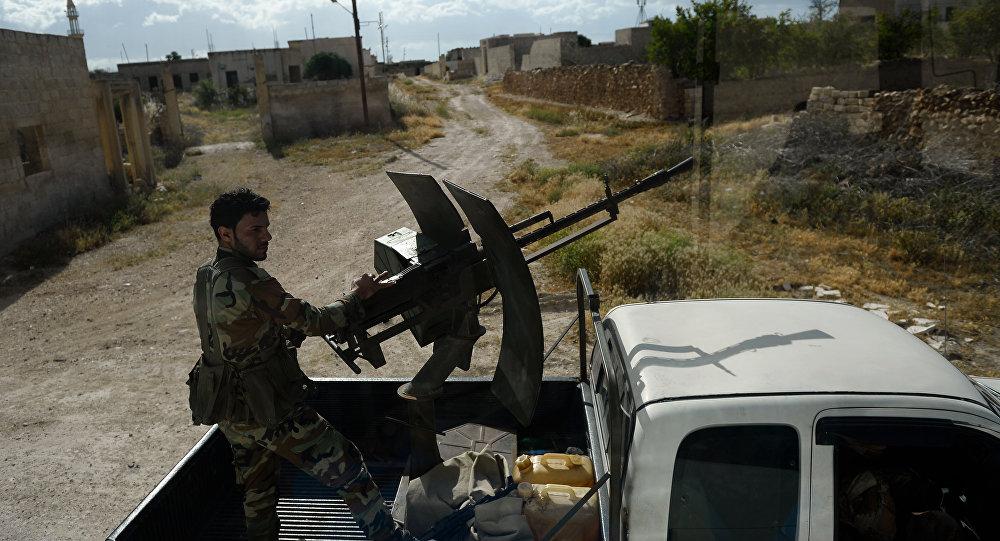 媒體:敘防空部隊在敘西南擊落一架以色列無人機