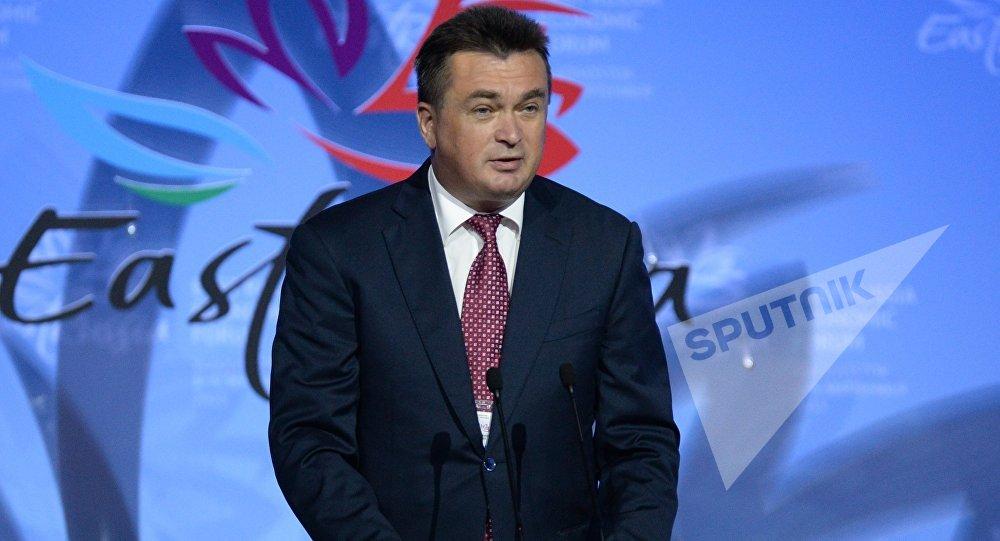 俄罗斯滨海边疆区行政长官弗拉基米尔•米克卢舍夫斯基