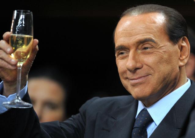 意大利女子为同前总理共进晚餐花7万欧元 善款用于赈灾
