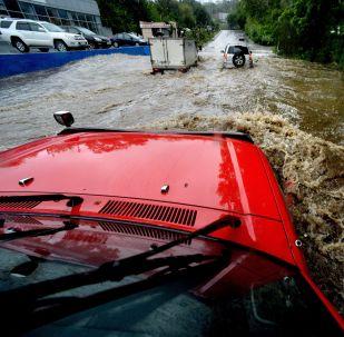 俄滨海边疆区与中国接壤地区因暴雨进入紧急状态