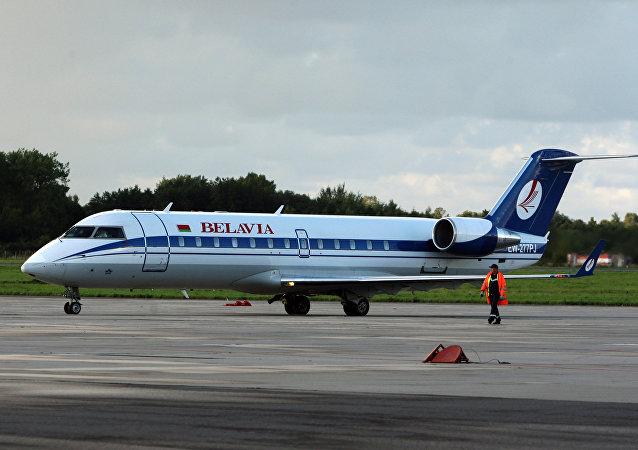 白俄罗斯航空公司的波音737飞机