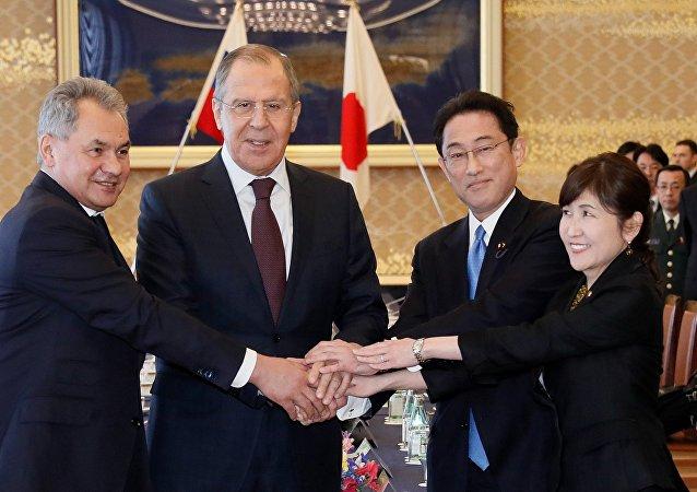 日本防卫大臣期望加强莫斯科与东京间互信