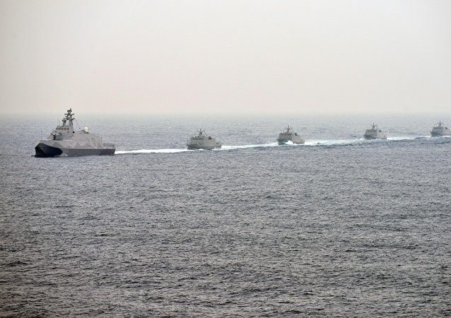 台湾海上军演