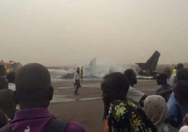 South Supreme Airlines crash at Wau Airport in South Sudan