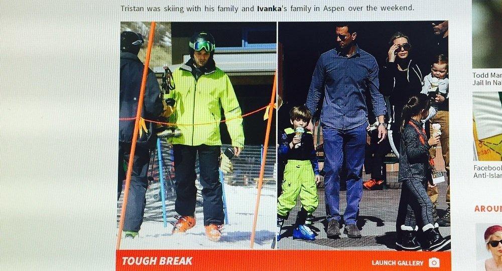 媒體:特朗普五歲的孫子在滑雪時腿部受傷