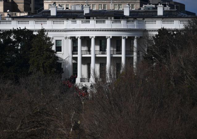 Вид на Белый дом США