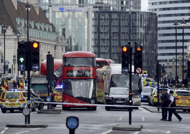 媒体称工兵爆破英国议会旁的可疑物品