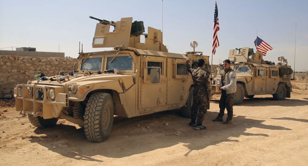 美军驻叙利亚基地