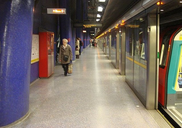 伦敦地铁北格林威治(North Greenwich)