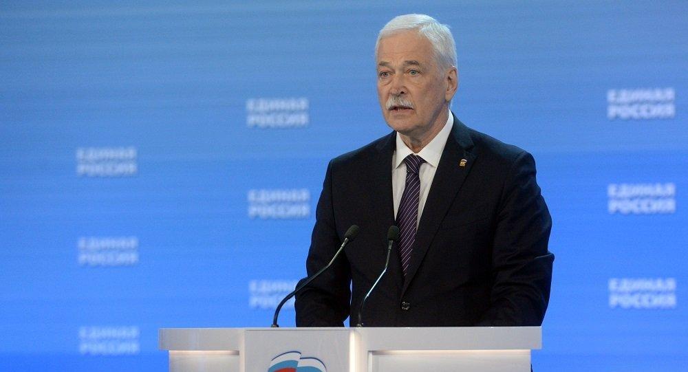 统俄党最高委员会主席:该党与中国共产党的接触对国家间关系很重要