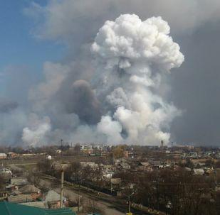 烏克蘭軍火庫火災附近約3.6萬居民已被疏散