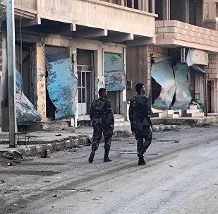 消息:敘利亞軍隊解放哈馬北部的考卡普村