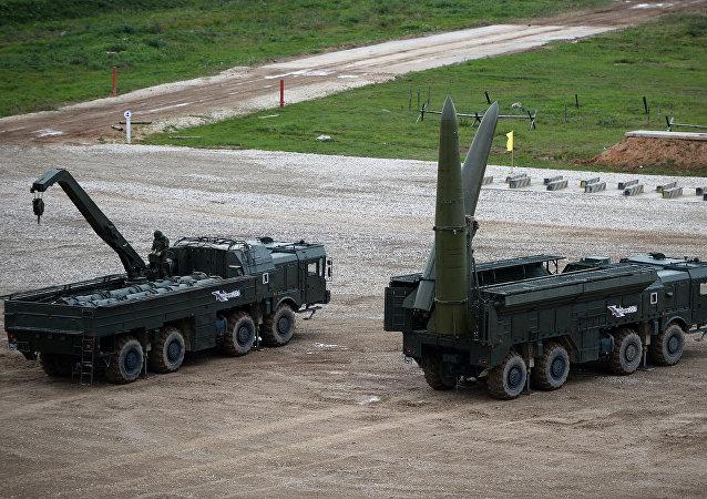 """俄军方向吉尔吉斯斯坦调派""""伊斯坎德尔-M""""导弹以参加独联体反恐军演"""