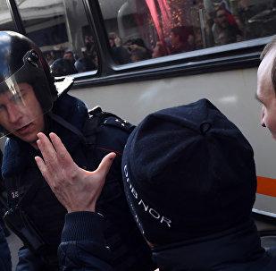 Несанкционированный митинг в Москве 26 марта 2017 г.