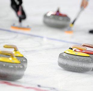 冰壺混雙世錦賽16強戰俄羅斯隊將對陣中國隊
