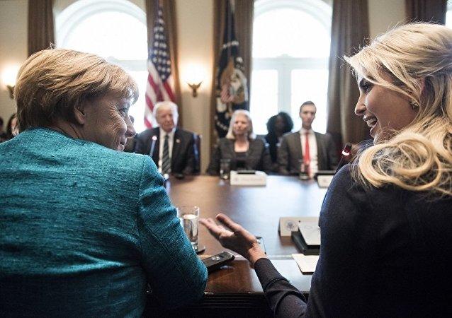 默克尔邀请特朗普女儿参加德国峰会