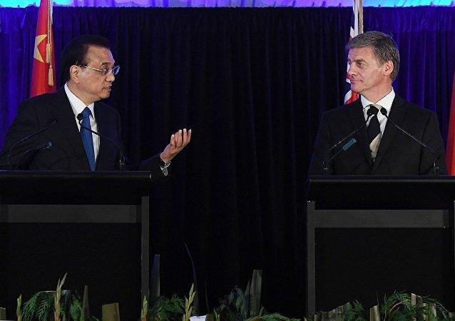 新西兰总理:新中自贸协定升级谈判拟于4月25日启动