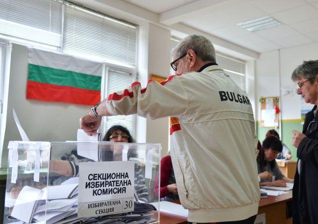 保加利亚中央选举委:亲欧洲政党赢得议会选举