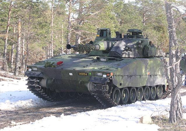 瑞典坦克(资料图片)