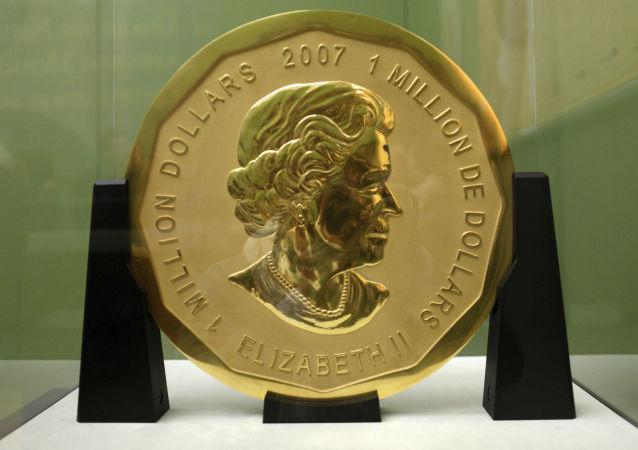 一枚价值100万美元的金币在柏林博物馆被盗