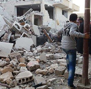 美主导国际联盟不赞同俄国防部声明中拉卡被彻底毁灭的说法