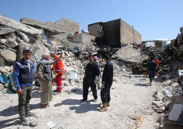 报告:国际联军打击导致伊拉克和叙利亚352人死亡
