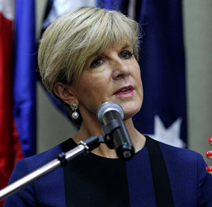 Australian Minister of Foreign Affairs Julie Bishop