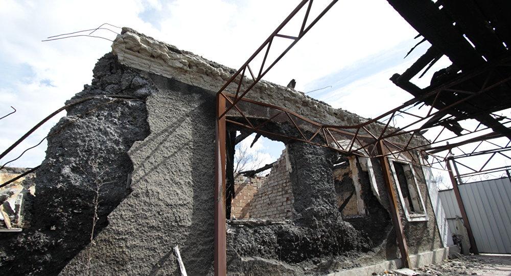 頓涅茨克人民共和國一周內因烏克蘭炮擊造成4死11傷