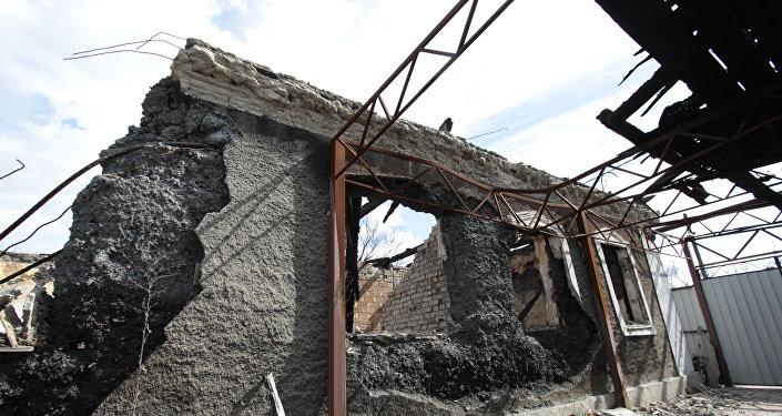 顿涅茨克人民共和国一周内因乌克兰炮击造成4死11伤