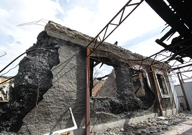 顿涅茨克:乌强力部门连续一周干扰顿巴斯供水管道维修