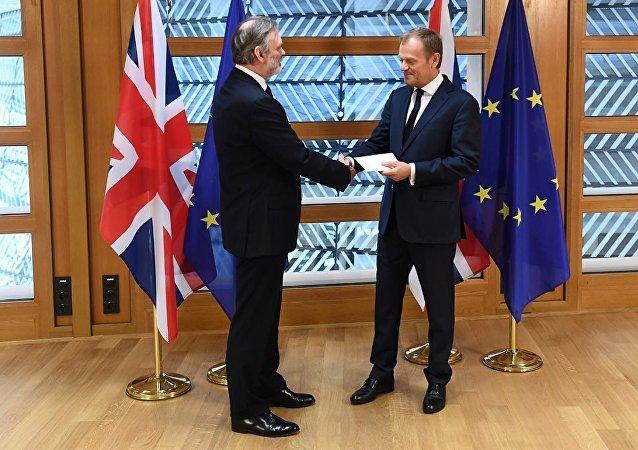 英国正式通知欧洲退出欧盟