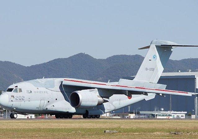日本开始部署新型川崎C2军用运输机